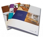Saddle stitch booklets: 8 pages 8.5x11