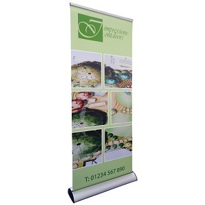 Marlin Refillable Banner Stand