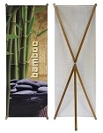 Bamboo X-STYLE Banner Stand
