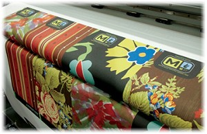 Full color fabric printing