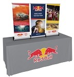 Phonetics Mini Retractable Banner Stand
